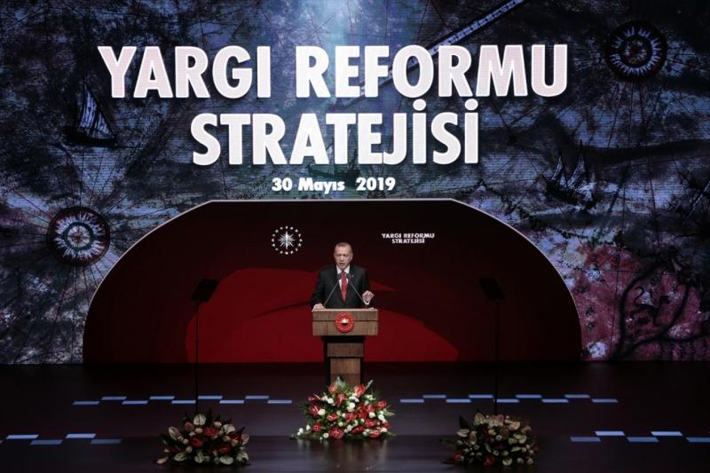 Cumhurbaşkanı Erdoğan Yargı Reformu Paketi'ni açıkladı