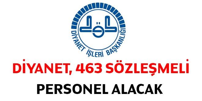 Diyanet Sözleşmeli 463 Personel Alacak