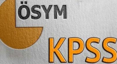 KPSS giriş belgeleri yayımlandı