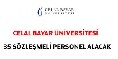 Manisa Celal Bayar Üniversitesi 35 Sözleşmeli Personel Alacak