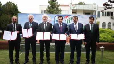 MEB ile Bursaspor Arasında Örnek Protokol İmzalandı
