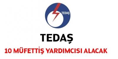 TEDAŞ 10 Müfettiş Yardımcısı Alacak