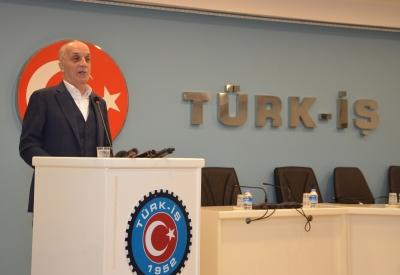 """TÜRK-İŞ Genel Başkanı Atalay' dan """"Mobbing Farkındalık Haftası' ında Önemli Çağrı"""